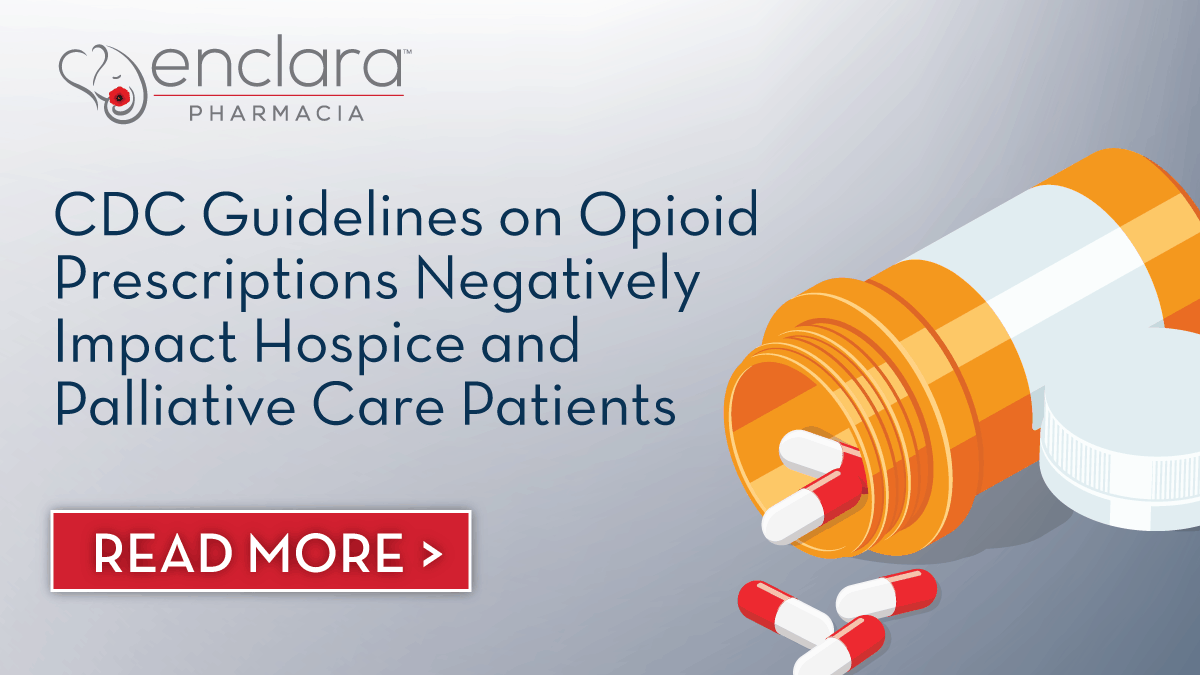 CDC Guidelines and Legislative Limitations on Opioid Prescriptions Negatively Impact Hospice and Palliative Care Patients