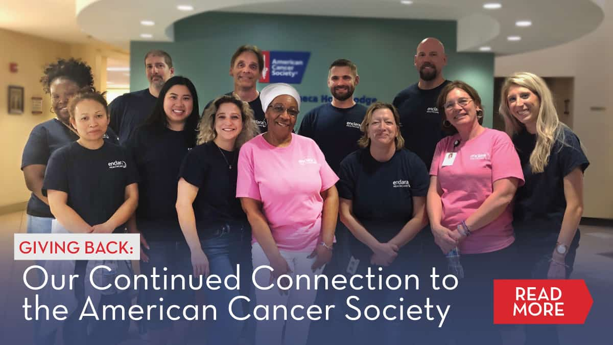 Giving Back: Our Continued Connection to the American Cancer Society