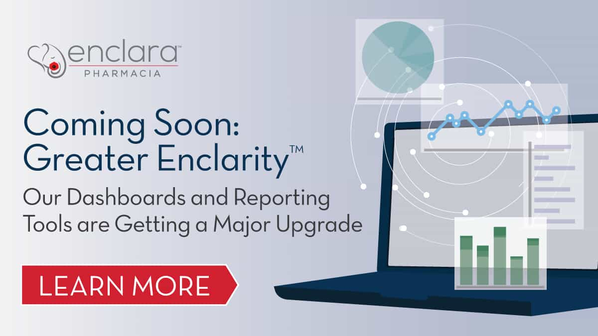 Upgrades to Enclarity<sup>TM</sup> Dashboards Will Improve Capabilities and User Experience