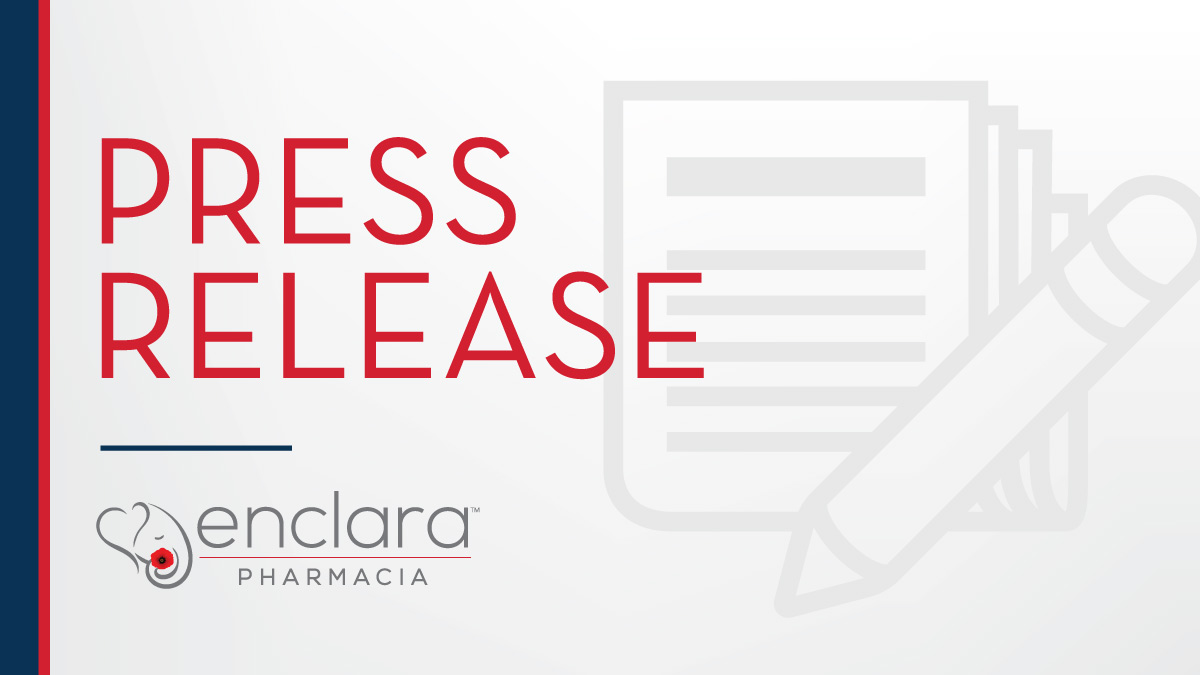 Enclara Pharmacia Expands Collaborative Relationship with Ohio's Hospice, Continues to Provide Innovative Technology and Highest Level of Clinical Support